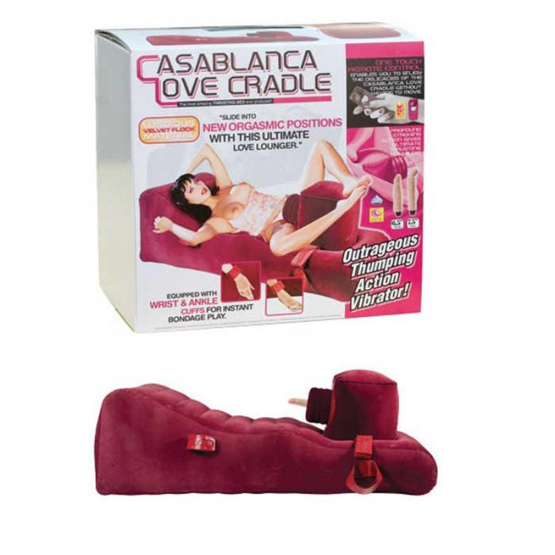 Секс-Кровать Надувная CASABLANCA LOVE CRADLE фиолетовая  для страстного разврата